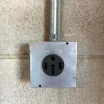 NEMA 14-50 Outlet Plug Installation